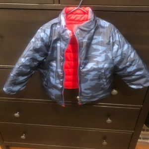 GAP Jackets & Coats - Boys puffer reversible jacket
